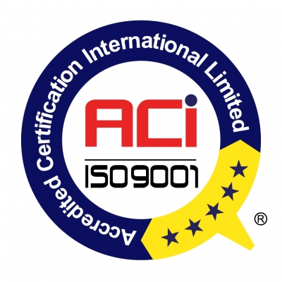 ISO 9001 Simple with trade mark R_Co